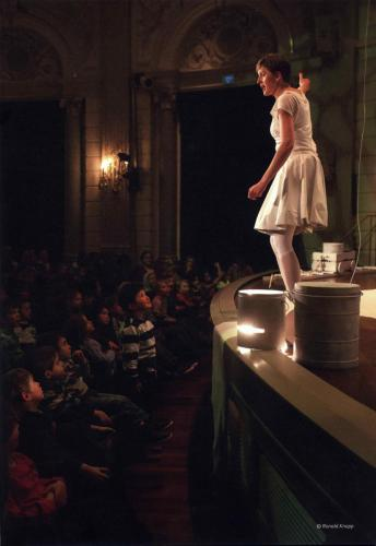 Ik sta paf. Performance for kids in Concertgebouw, Amsterdam